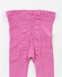 Detské hladké s elastanom ružové