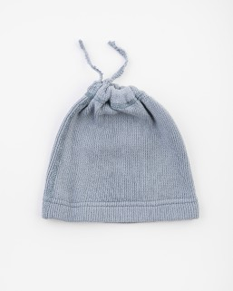 Detská čiapka bledosivá – chlapec