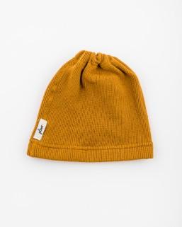 Detská čiapka okrová – chlapec