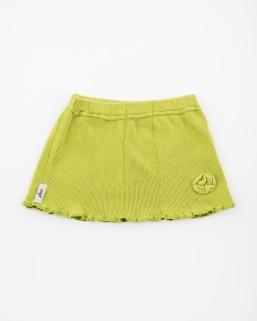 Detská sukňa žltozelené