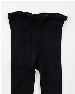 Dámske hladké s elastanom čierne